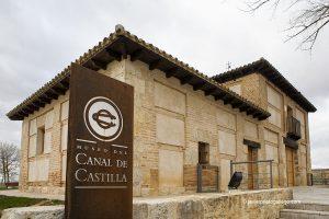 Museo del Canal ubicado en la Casa del Rey. Localidad de Villaumbrales. Canal de Castilla. Ramal de Campos. Palencia. Castilla y León. España © Javier Prieto Gallego
