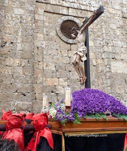 Santísimo Cristo de la Luz (Gregorio Fernández, h. 1630) Jueves Santo. Valladolid. Castilla y León. España. © Javier Prieto Gallego