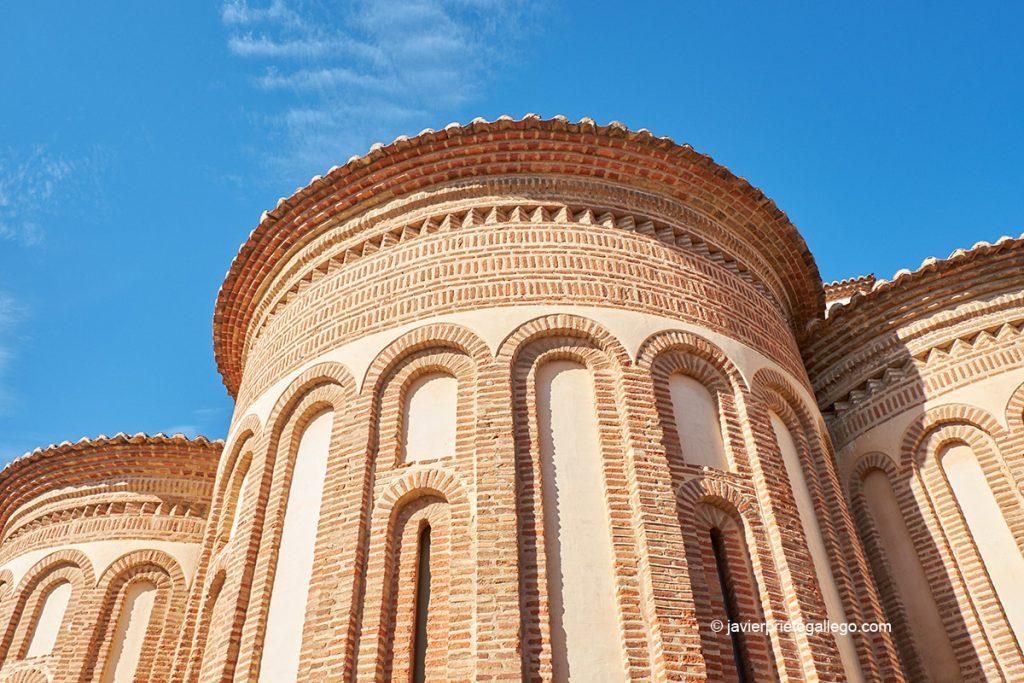 Ábside mudéjar de la iglesia de San Salvador de los Caballeros. Toro. Castilla y León. España © Javier Prieto Gallego