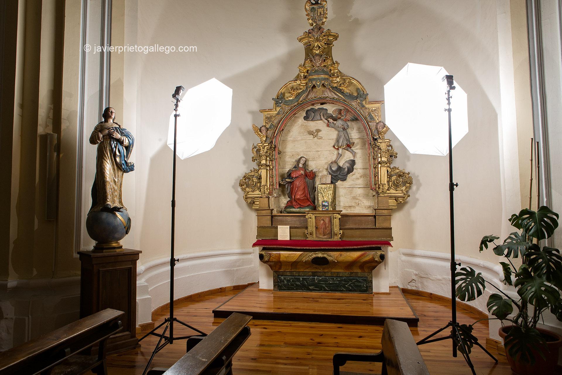 Anunciación. Renedo de Esgueva. Valladolid. © Javier Prieto Gallego;