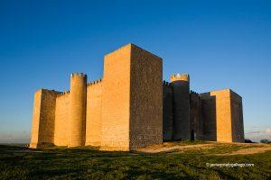 Castillo de Montealegre de Campos. Montes Torozos. Valladolid. Castilla y León. España © Javier Prieto Gallego