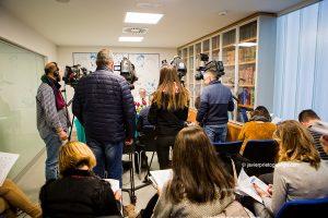 Presentación de la Semana sobre la Migraña realizada en Hospital Clínico de Valladolid. Valladolid. Castilla y León. España. © Javier Prieto Gallego